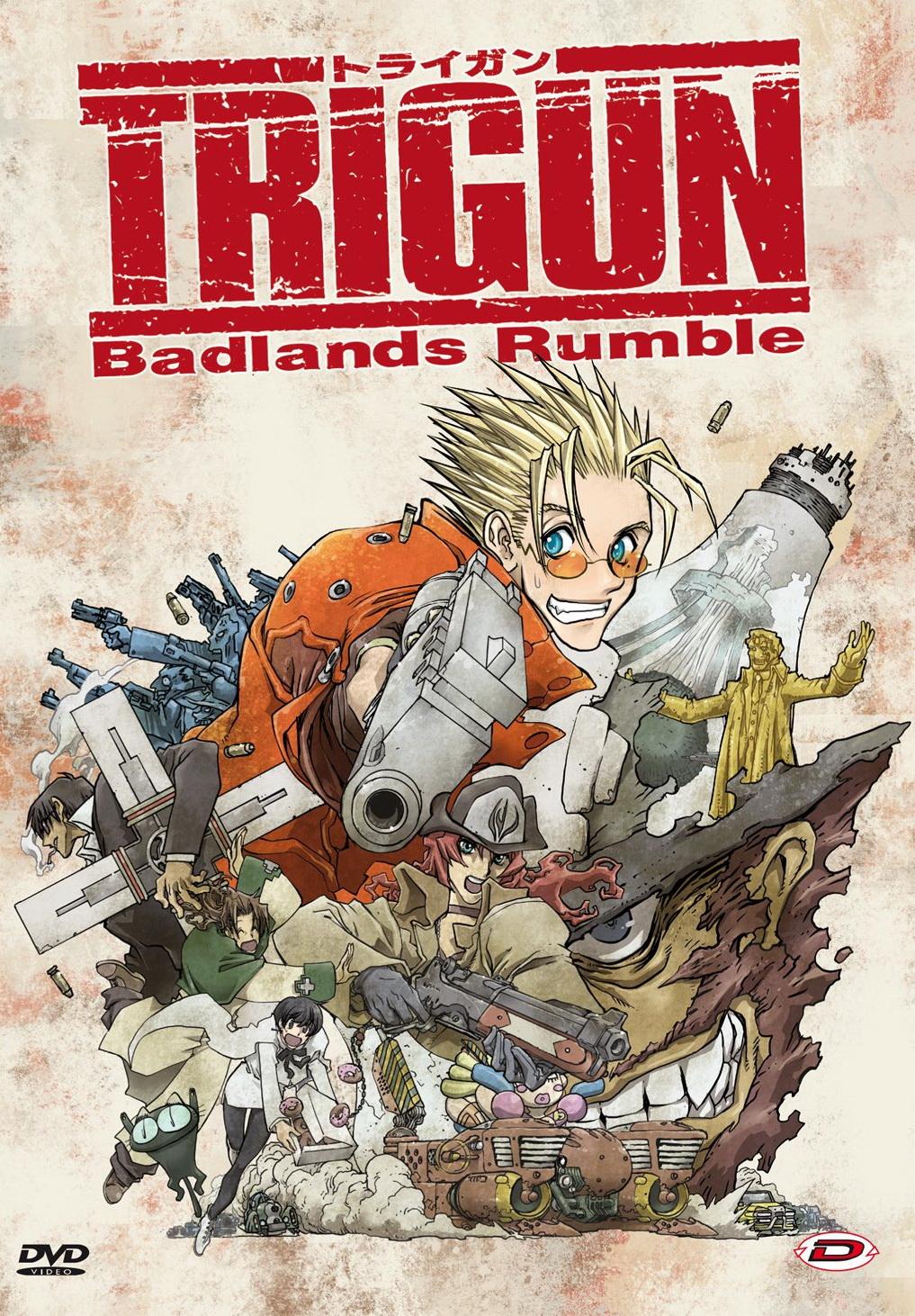 TRIGUN - BADLANDS RUMBLE (2 DVD) (DVD)