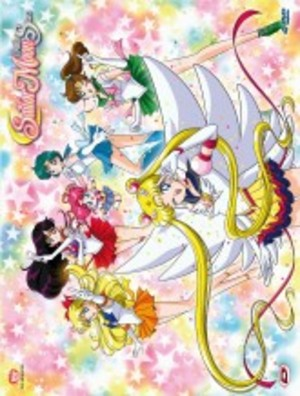 COF.SAILOR MOON - SAILOR STARS BOX #02 (EPS 184-200) (4 DVD) (DVD)