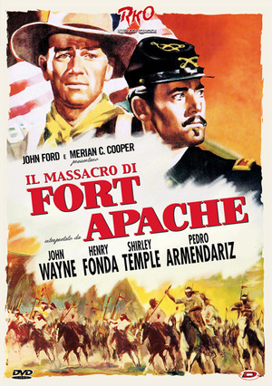 IL MASSACRO DI FORT APACHE (DVD)