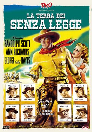 LA TERRA DEI SENZA LEGGE (DVD)