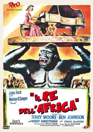 IL RE DELL'AFRICA (DVD)