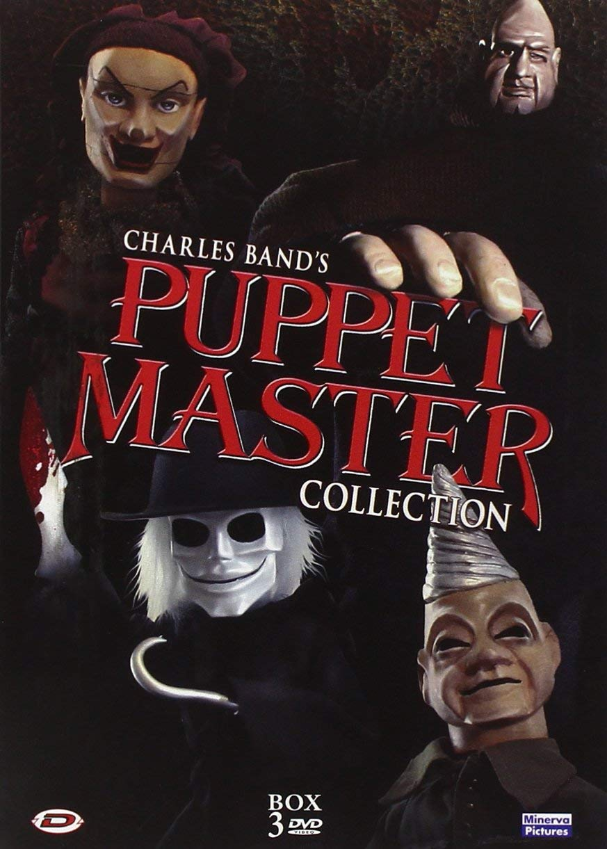 COF.PUPPET MASTER COLLECTION (3 DVD) (DVD)