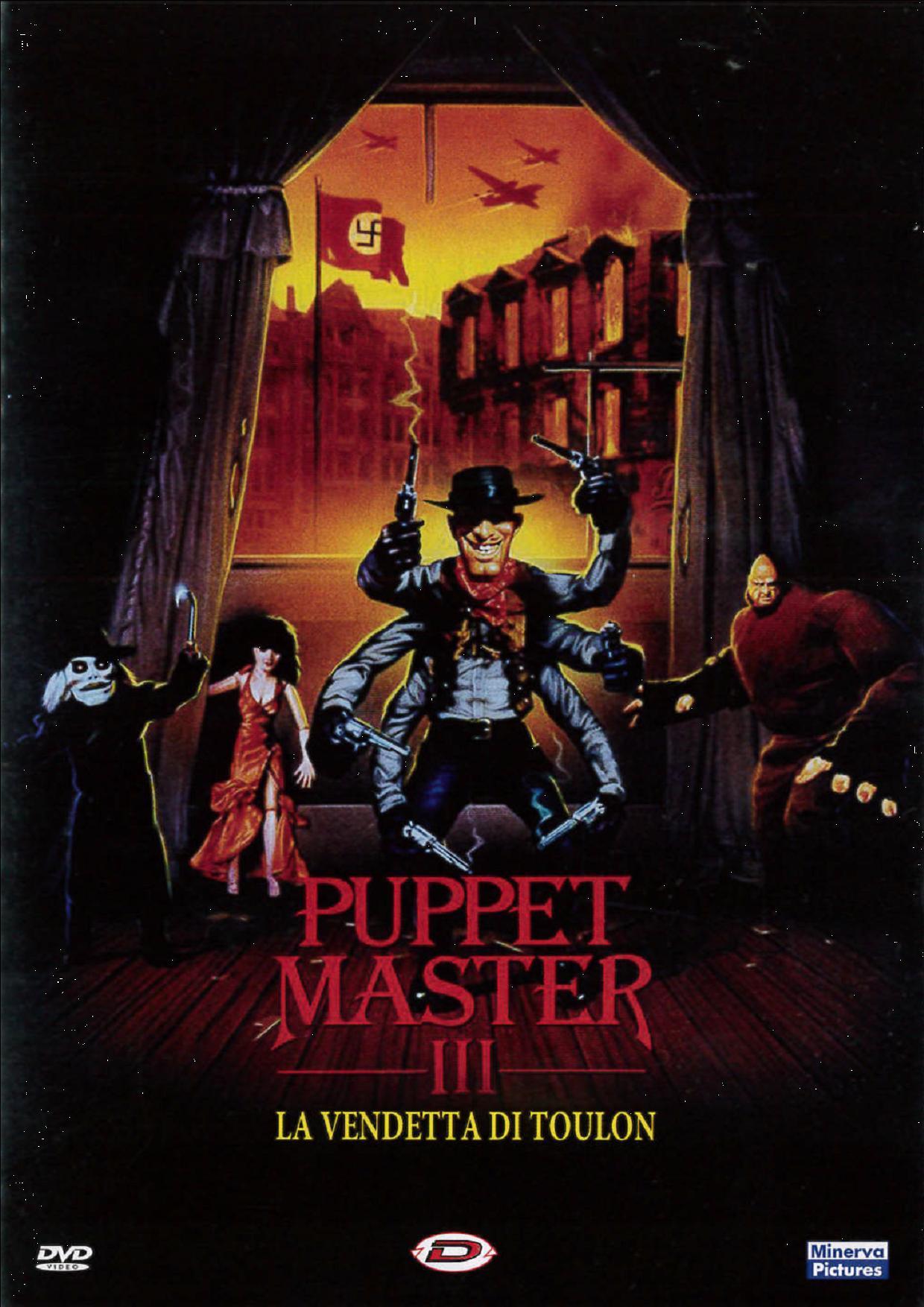 PUPPET MASTER 3 - LA VENDETTA DI TOULON (DVD)