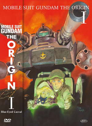 MOBILE SUIT GUNDAM - THE ORIGIN I - BLUE-EYED CASVAL (FIRST PRES