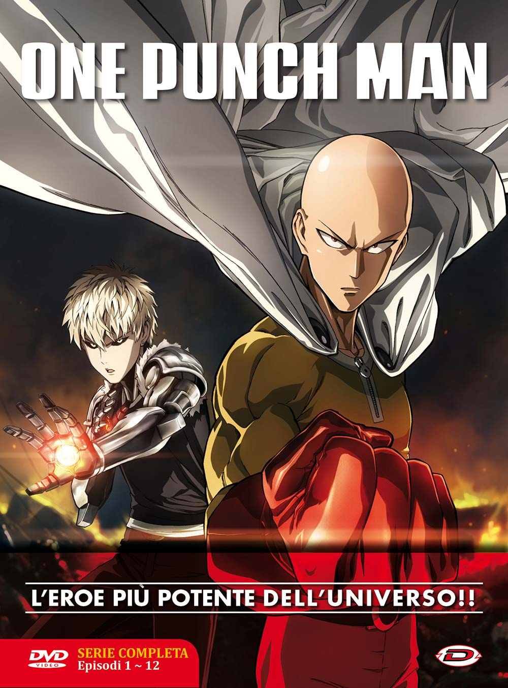 COF.ONE PUNCH MAN - THE COMPLETE SERIES BOX (EPS 01-12) (3 DVD)
