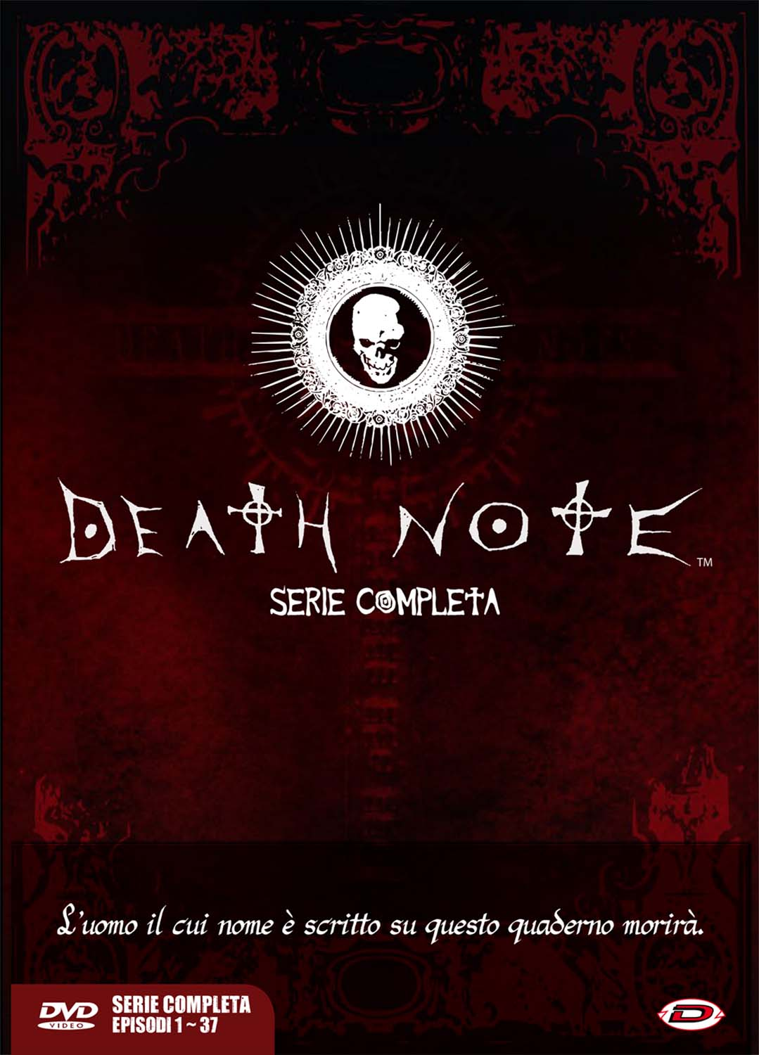 COF.DEATH NOTE - THE COMPLETE SERIES (EPS 01-37) (5 DVD) (DVD)