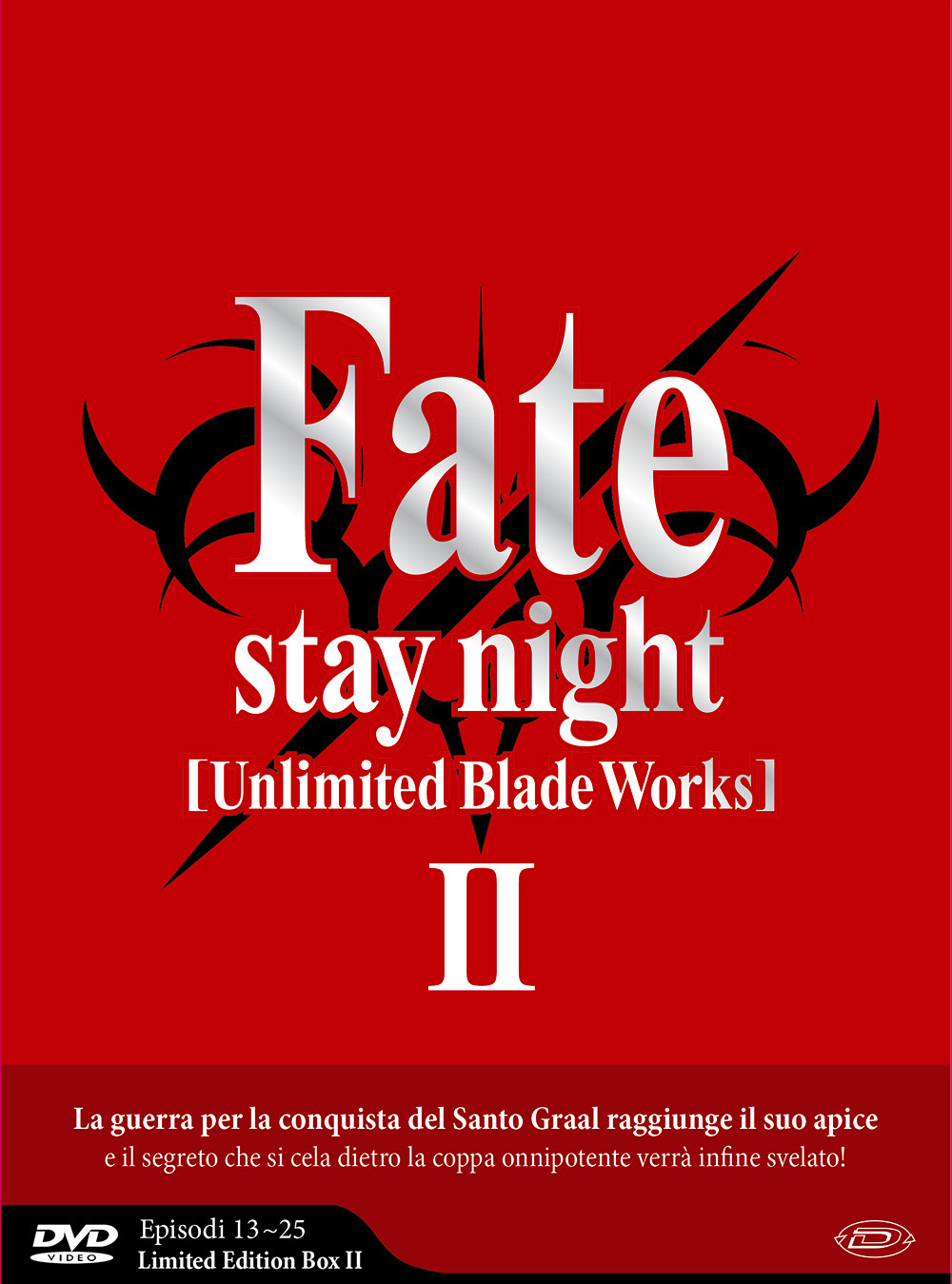 COF.FATE/STAY NIGHT - UNLIMITED BLADE WORKS - STAGIONE 02 (EPS 13-25) (3 DVD) (LIMITED EDITION BOX) (DVD)