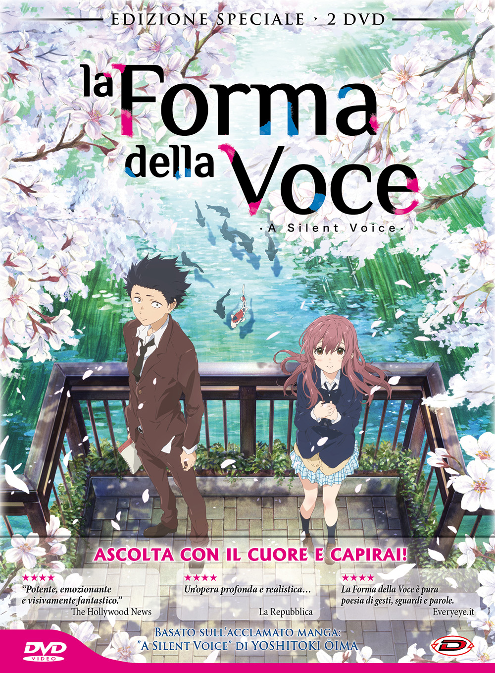 LA FORMA DELLA VOCE (SPECIAL EDITION) (2 DVD) (FIRST PRESS) (DVD)