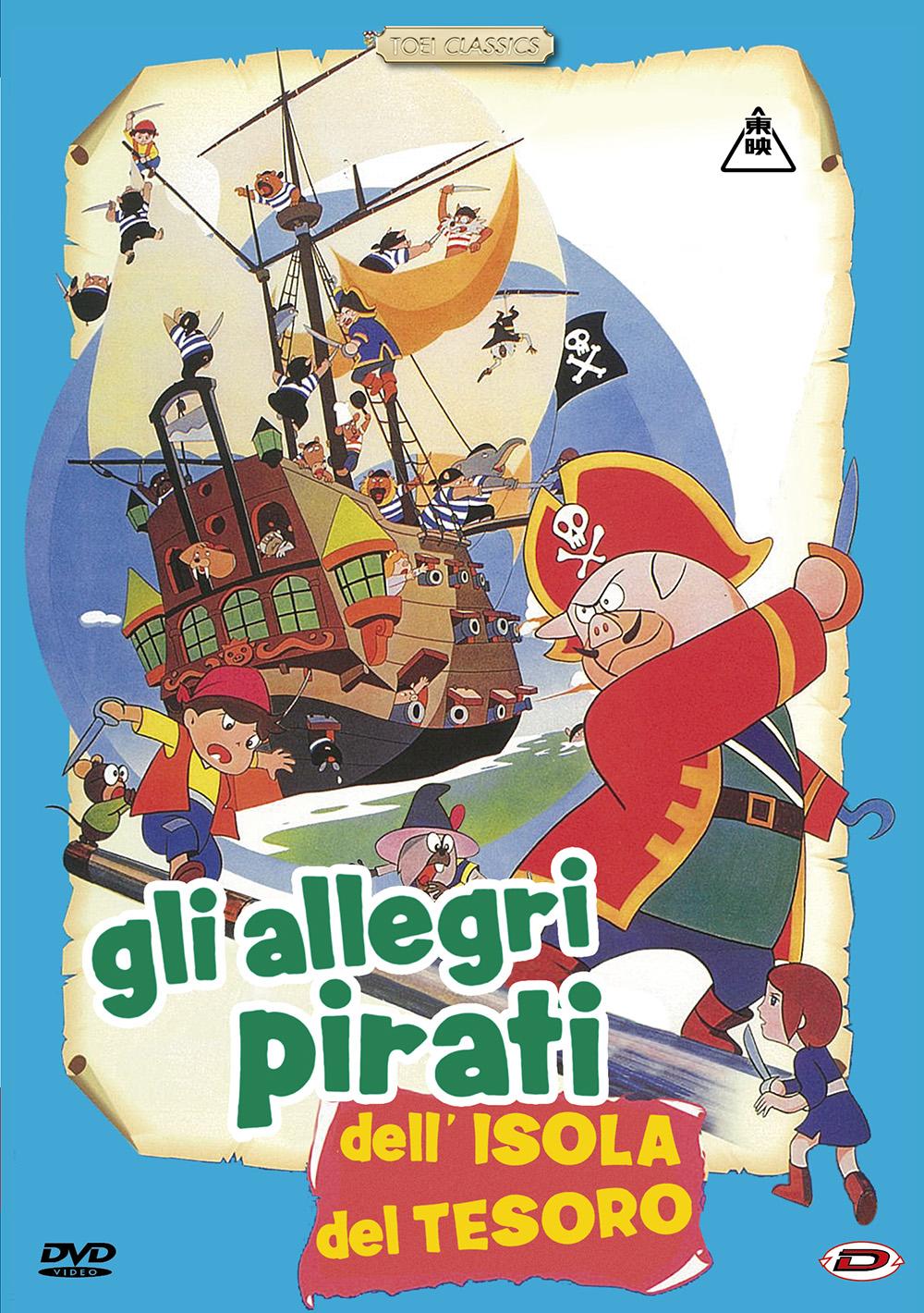 GLI ALLEGRI PIRATI DELL'ISOLA DEL TESORO (DVD)