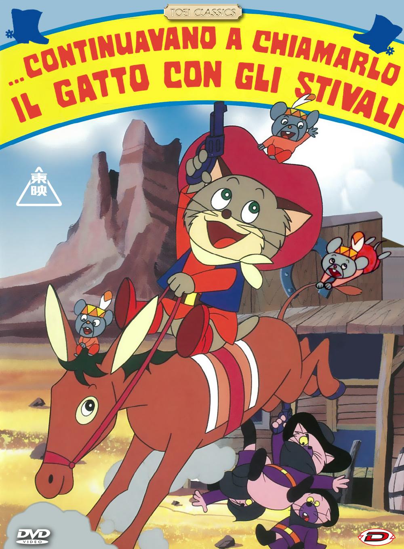 CONTINUAVANO A CHIAMARLO IL GATTO CON GLI STIVALI (DVD)