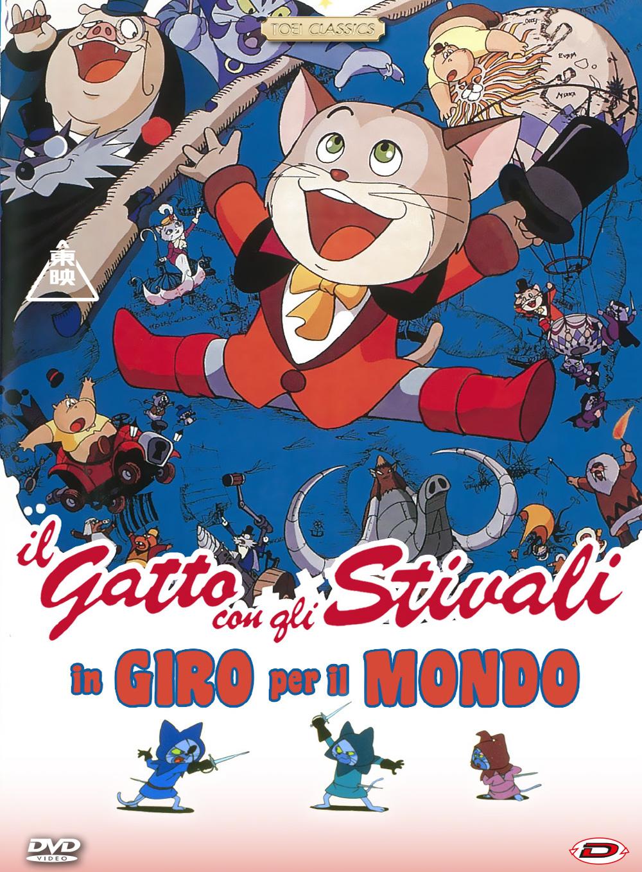 IL GATTO CON GLI STIVALI IN GIRO PER IL MONDO (DVD)