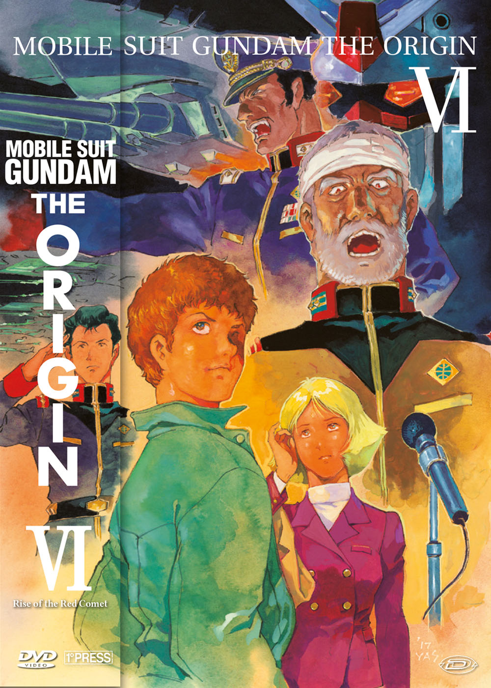 MOBILE SUIT GUNDAM - THE ORIGIN VI - RISE OF THE RED COMET (FIRS