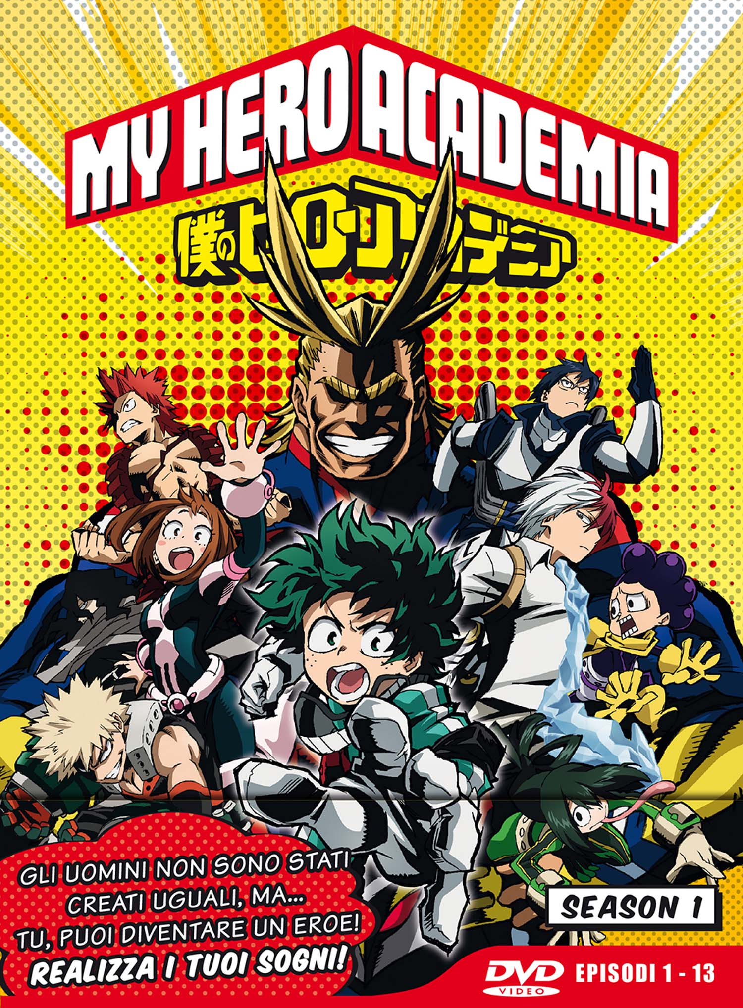 COF.MY HERO ACADEMIA - STAGIONE 01 (EPS 01-13) (LTD EDITION) (3