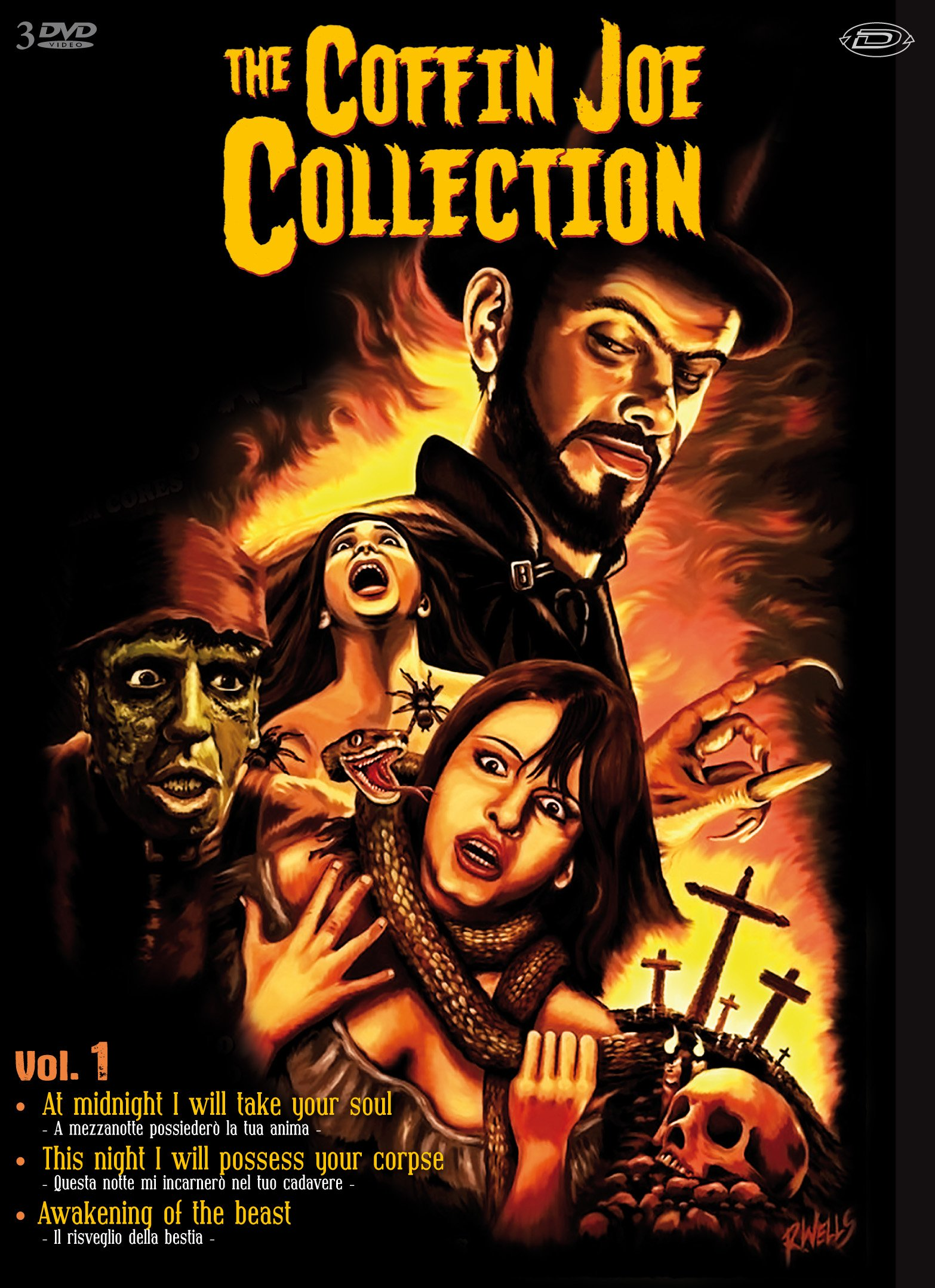 COF.COFFIN JOE COLLECTION BOX (9 DVD) (DVD)
