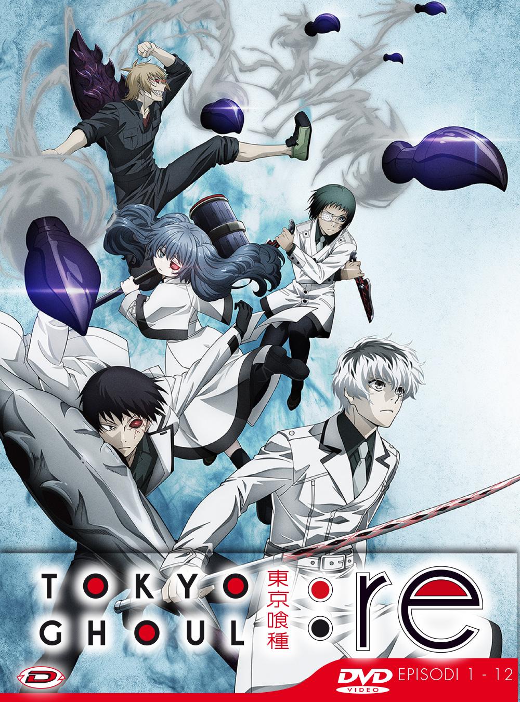 TOKYO GHOUL: RE - STAGIONE 03 BOX 01 (EPS 01-12) (3 DVD) (ED. LI