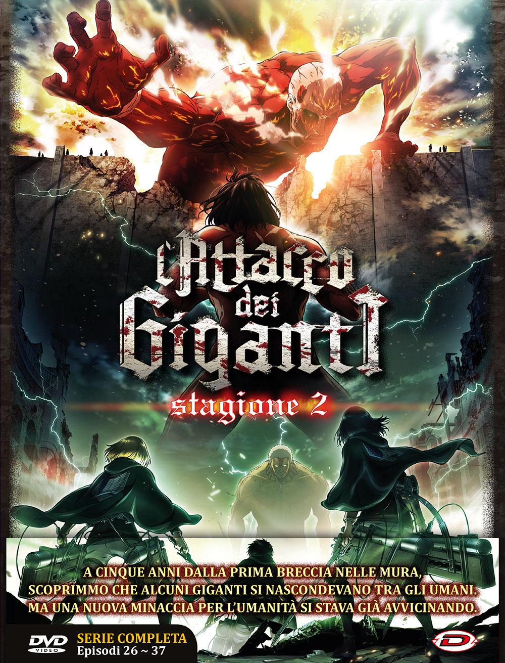 COF.L'ATTACCO DEI GIGANTI - STAGIONE 02 THE COMPLETE SERIES (EPS