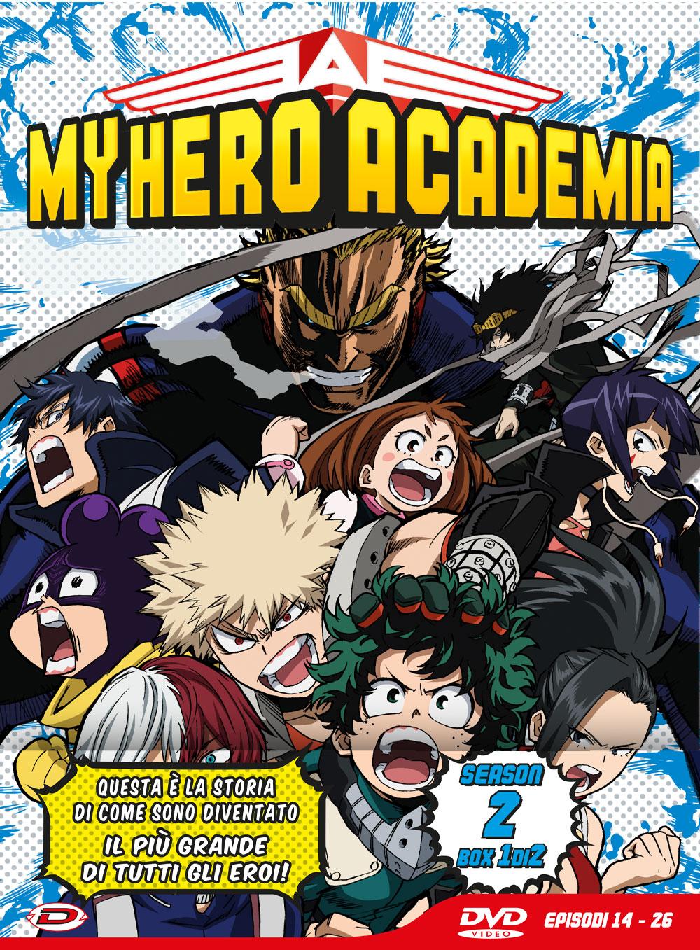 COF.MY HERO ACADEMIA - STAGIONE 02 BOX #01 (EPS 14-26) (LTD EDIT