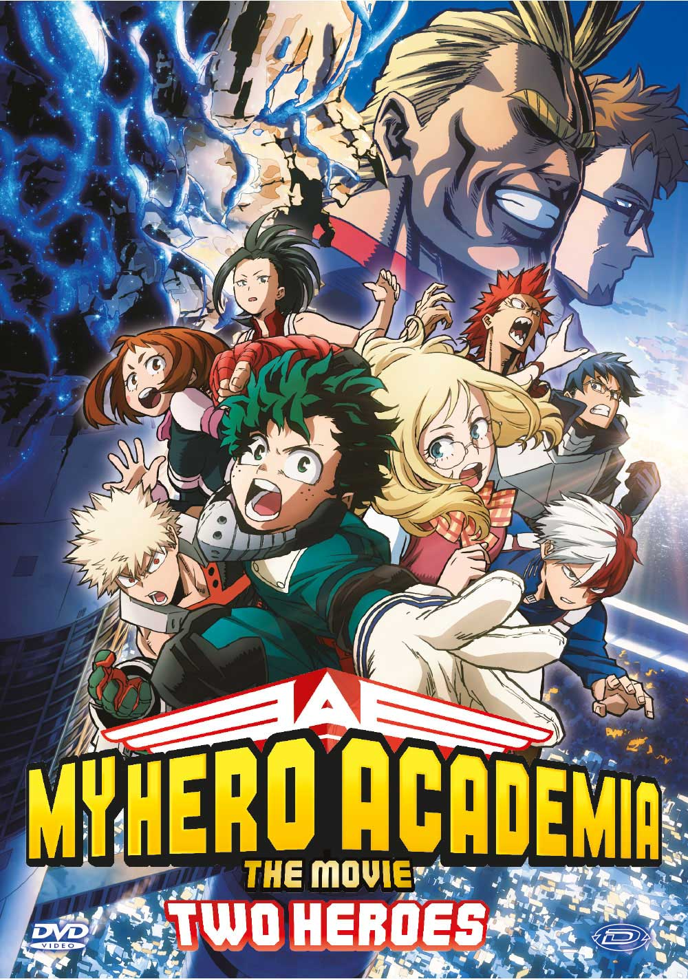 MY HERO ACADEMIA - THE MOVIE - TWO HEROES (DVD)