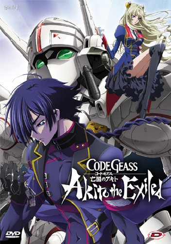 CODE GEASS - AKITO THE EXILED - SERIE COMPLETA (5 DVD) (DVD)