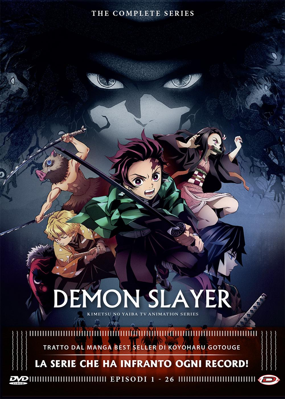 COF.DEMON SLAYER - THE COMPLETE SERIES (EPS 01-26) (4 DVD) (DVD)