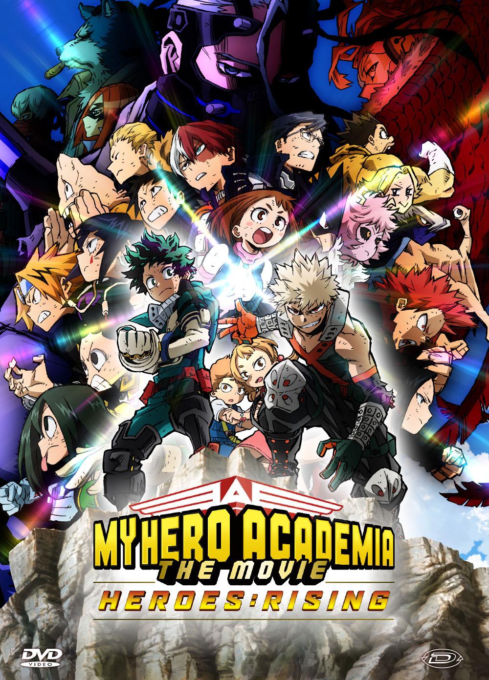 MY HERO ACADEMIA - THE MOVIE - HEROES: RISING (DVD)