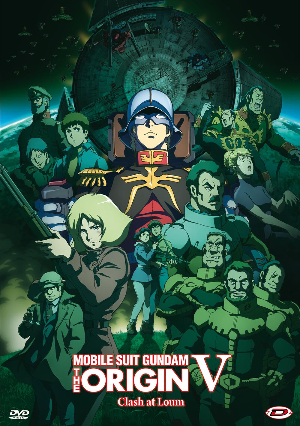 MOBILE SUIT GUNDAM - THE ORIGIN V - CLASH AT LOUM (DVD)
