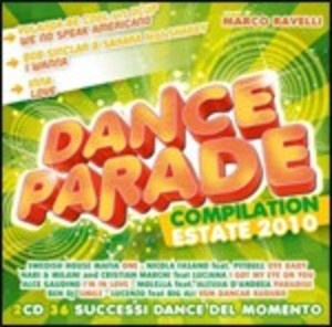 DANCE PARADE ESTATE 2010 -2CD (CD)