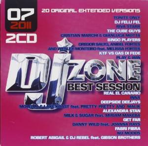 DJ ZONE BEST SESSION 07 / 2011 -2CD (CD)