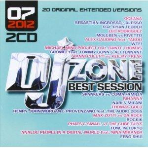 DJ ZONE. BEST SESSION 07.2012 -2CD (CD)