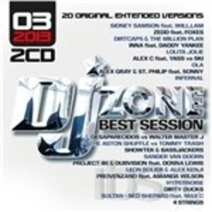 DJ ZONE. BEST SESSION 03.2013 -2CD (CD)