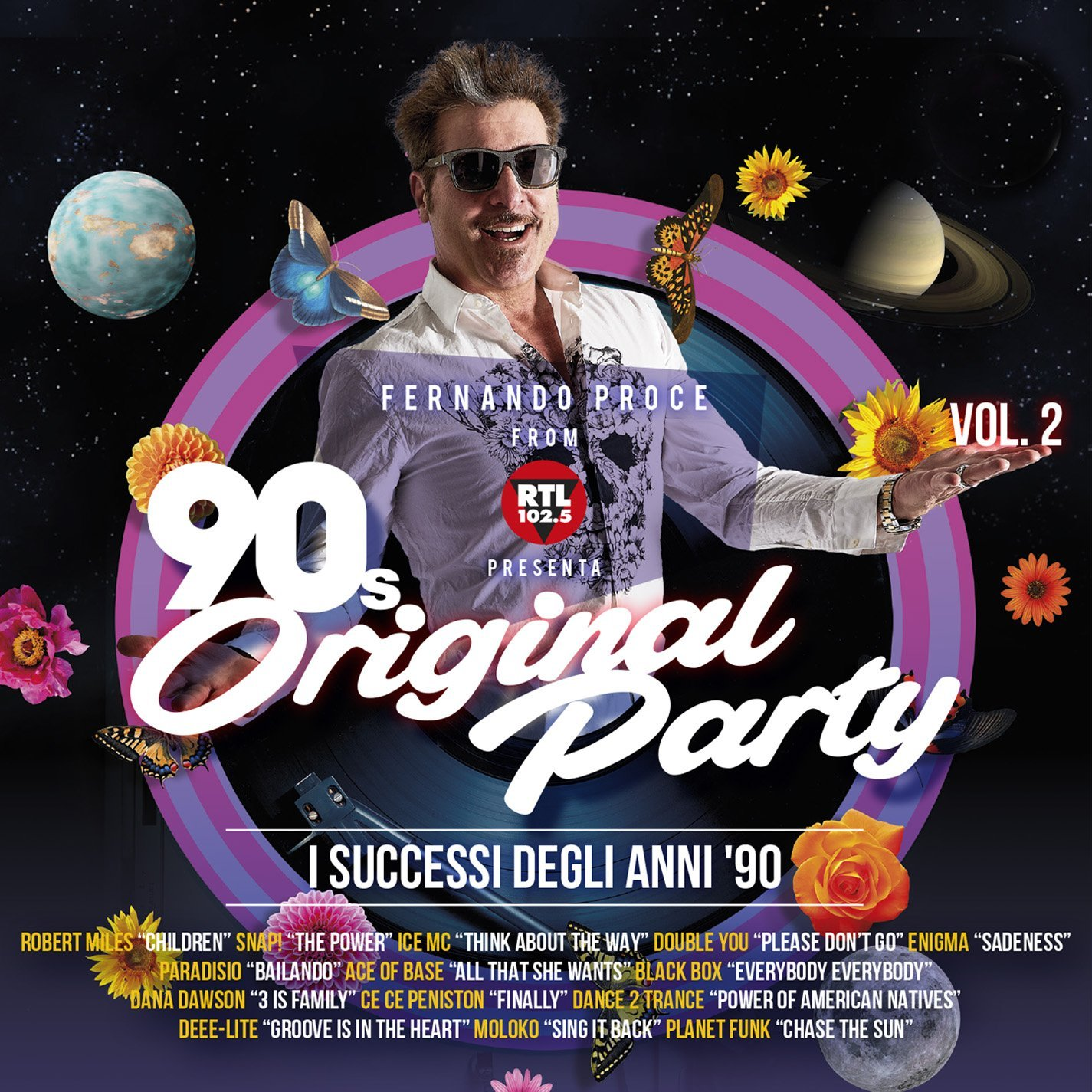 90S ORIGINAL PARTY VOL.2 (FERNANDO PROCE DI RTL 102,5) CD (CD)