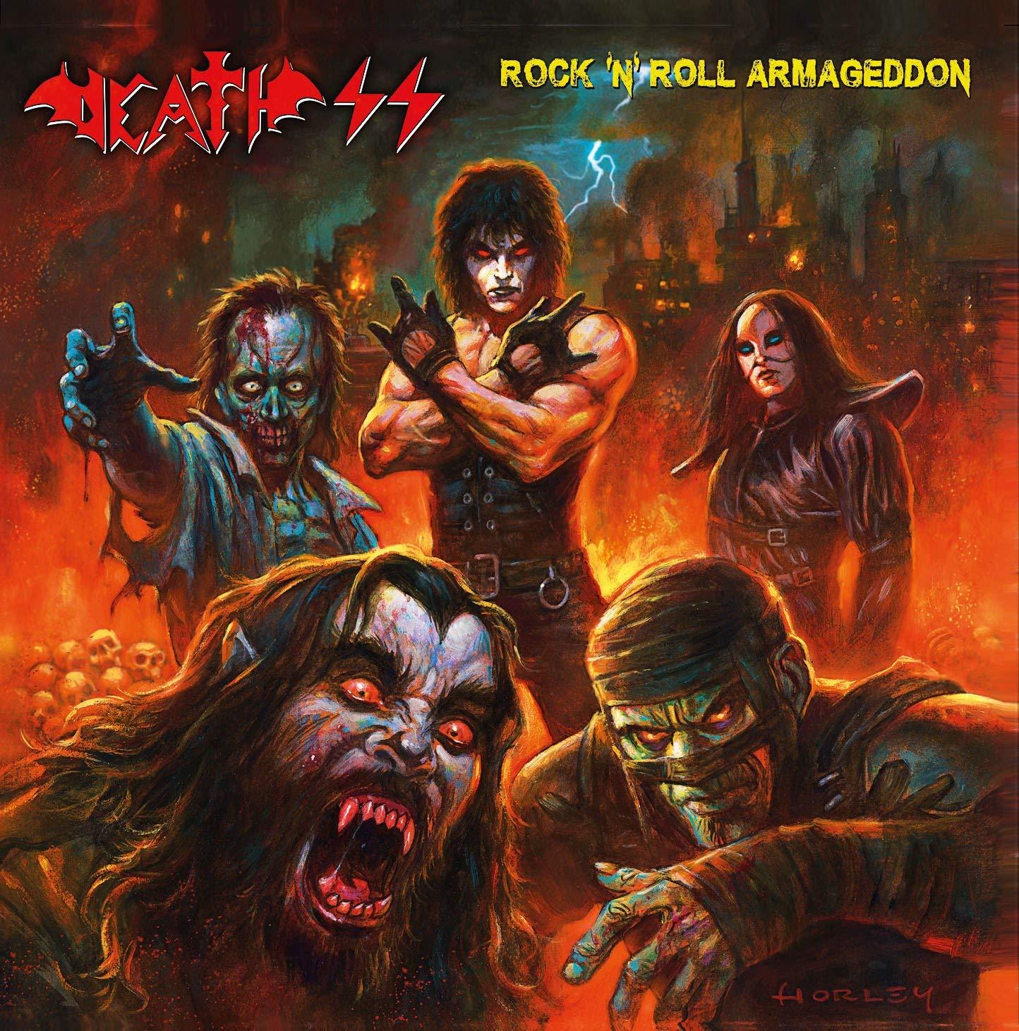 DEATH SS - ROCK'N'ROLL ARMAGEDDON (DIGIPACK) (CD)