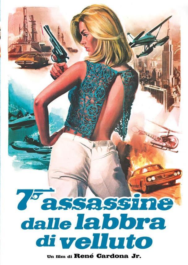 7 ASSASSINE DALLE LABBRA DI VELLUTO (DVD)