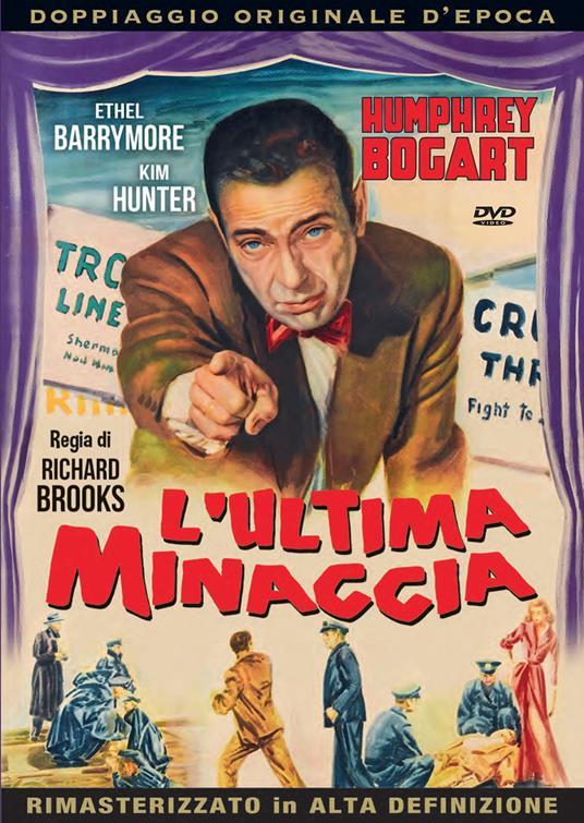 L'ULTIMA MINACCIA (DVD)