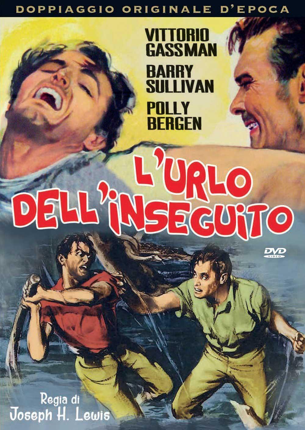 L'URLO DELL'INSEGUITO (DVD)