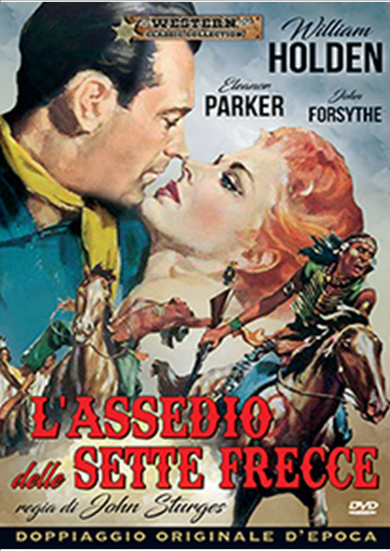L'ASSEDIO DELLE SETTE FRECCIE (DVD)
