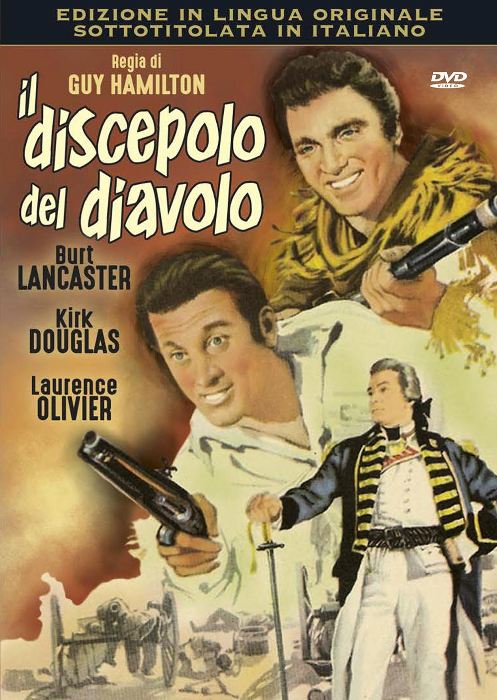 IL DISCEPOLO DEL DIAVOLO (DVD)