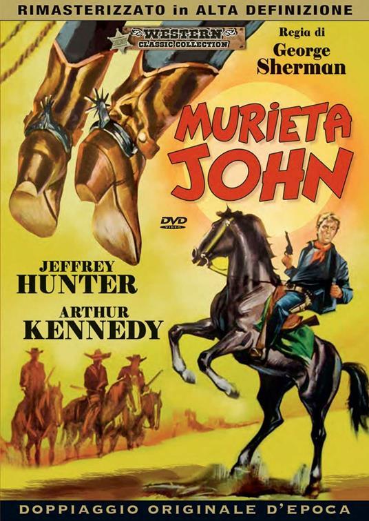 MURIETA JOHN (DVD)