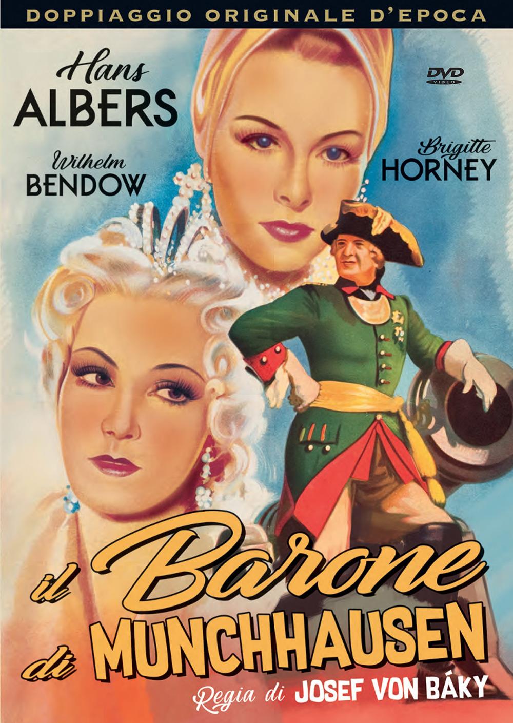 IL BARONE MUNCHHAUSEN (2DVD) (DVD)