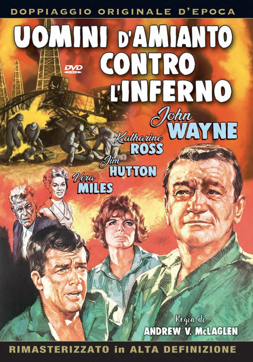UOMINI D'AMIANTO CONTRO LINFERNO (DVD)
