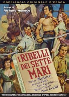 I RIBELLI DEI SETTE MARI (DVD)