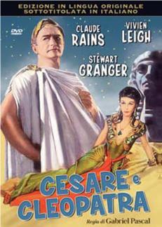 CESARE E CLEOPATRA - SOLO AUDIO INGLESE (DVD)