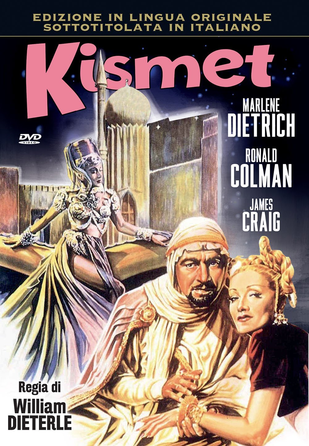 KISMET - AUDIO INGLESE (DVD)
