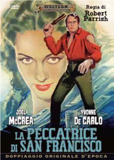 LA PECCATRICE DI SAN FRANCISCO (DVD)