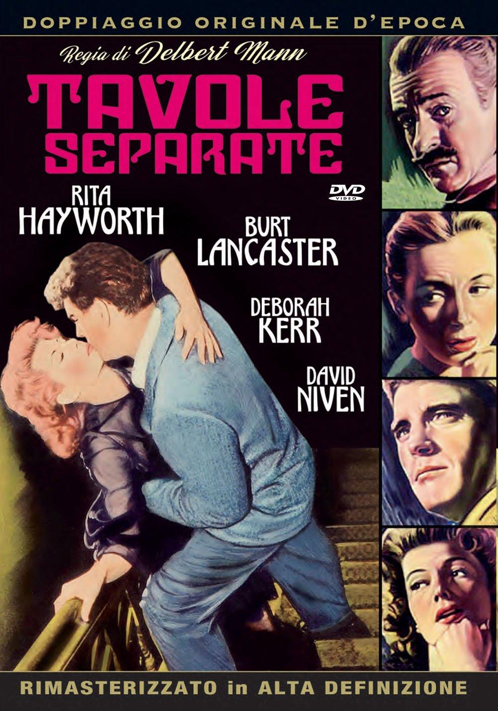 TAVOLE SEPARATE (DVD)