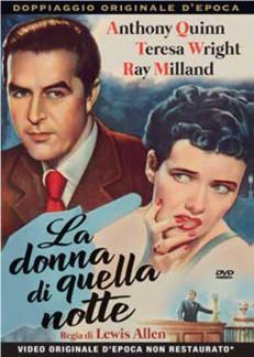 LA DONNA DI QUELLA NOTTE (DVD)