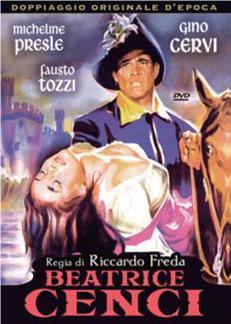 BEATRICE CENCI (DVD)