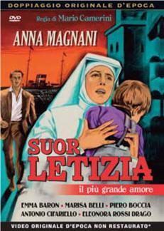 SUOR LETIZIA - IL PIU' GRANDE AMORE (DVD)