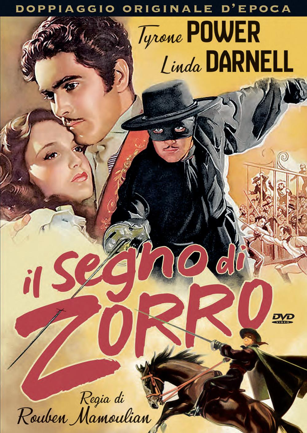 IL SEGNO DI ZORRO (DVD)