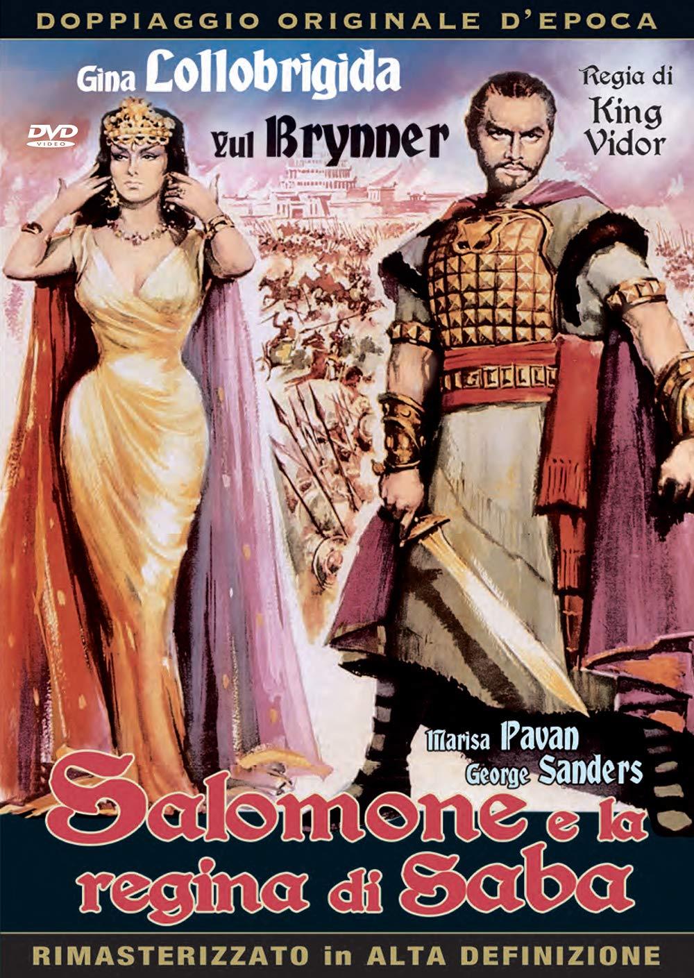 SALOMONE E LA REGINA DI SABA (DVD)